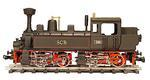 0-4-4-0 Mallet Type Steam Locomotive, Swiss Central Railway SCB