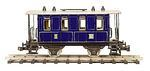 Passenger Car Dark Blue