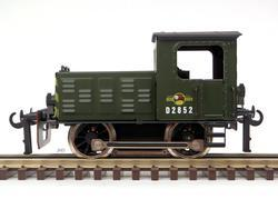Diesel Shunter British Railways Green - 1