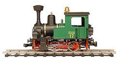 "0-4-0 Steam Locomotive ""Lucie"" No. 17"