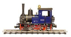 0-4-0 Steam Locomotive Steelworks HOESCH