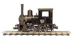 0-4-0 French Industrial Steam Locomotive
