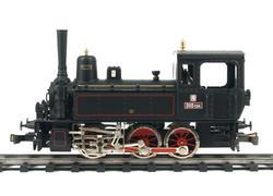 0-6-0 Steam Locomotive ČSD Series 310.0 with compressor