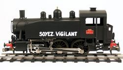 0-3-0 TU Steam Locomotive USATC S100 Class, Soyez Vigilant - 1