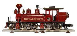 "2-4-4-0 Mallet Type Steam Locomotive ""Sequoia Lumber Co."""