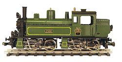 0-4-4-0 Mallet Type Steam Locomotive of the King of Bavaria Railway