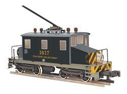 "Electric Locomotive Baldwin-Westinghouse ""Steeple Cab"", served on Pacific Electric Railroad"