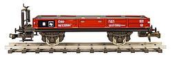 Low Side Car ČSD Series Np with Brakeman's Platform - 1