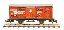 "Box Car K.K.St.B. Series Gd for transporting ""Thonet"" Furniture"