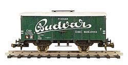 "Beer Car ČSD Series Lp ""Budvar"""