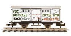 Freight Car for Transporting Live Fish, ČSD