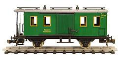 German Baggage Car Series Pwi