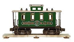 "Caboose ""Boston & Maine"""