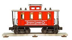 "Caboose ""Sequoia Lumber Co."""
