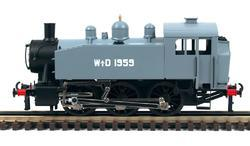0-3-0 TU Steam Locomotive USATC S100 Class, WD - 1