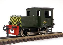Diesel Shunter British Railways Green - 2