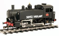 0-3-0 TU Steam Locomotive USATC S100 Class, Soyez Vigilant - 2