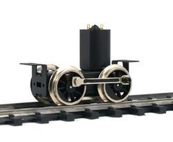 Driving Unit with high flanged wheels, axles distance 40 mm - 2