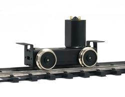 Driving Unit with high flanged wheels, axles distance 50 mm - 2