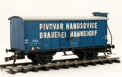 "Beer Car ČSD ""Hanušovice"" with Brakeman's Cabin - 2"