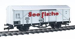 Covered refrigerated car for the transport of fresh fishes, type DR - 2