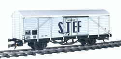 Covered refrigerated car for the food transport, SNCF version - 2