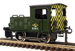 Diesel Shunter British Railways Green - 3