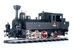 0-6-2 Steam Locomotive ČSD Series 312.7 - 3