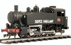 0-3-0 TU Steam Locomotive USATC S100 Class, Soyez Vigilant - 3