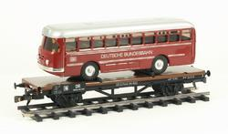 Flat Car DR with Bus - 3