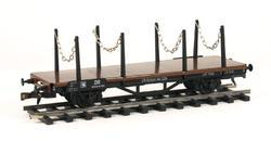 Flat Car DR with Stakes - 3