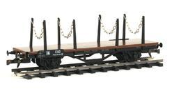 Flat Car DR with Stakes, ČSD - 3