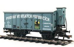 "Beer Car ČSD Series Lp ""Velké Popovice"" with Brakeman's Cabin - 3"