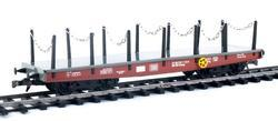 Four Axles Flat Car DB, Series Smmp - 3