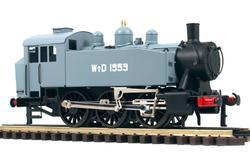0-3-0 TU Steam Locomotive USATC S100 Class, WD - 3