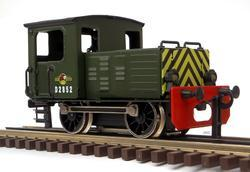 Diesel Shunter British Railways Green - 4