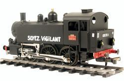 0-3-0 TU Steam Locomotive USATC S100 Class, Soyez Vigilant - 4