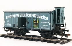 "Beer Car ČSD Series Lp ""Velké Popovice"" with Brakeman's Cabin - 4"