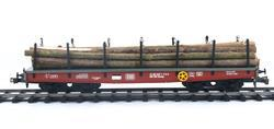 Four Axles Flat Car DB, Series Smmp - 4