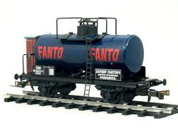 "Tank Car ČSD Series R ""Fanto "" with Brakeman's Cabin - 4"