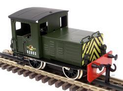 Diesel Shunter British Railways Green - 5