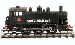0-3-0 TU Steam Locomotive USATC S100 Class, Soyez Vigilant - 5