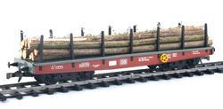 Four Axles Flat Car DB, Series Smmp - 5