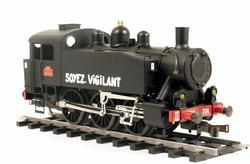 0-3-0 TU Steam Locomotive USATC S100 Class, Soyez Vigilant - 6