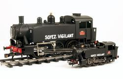 0-3-0 TU Steam Locomotive USATC S100 Class, Soyez Vigilant - 7